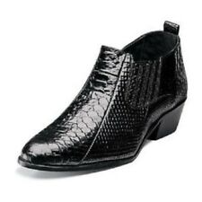 Stacy Adams Men's Sunset Slip On Leather Ankle Boots Black 24819