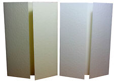 Premium 300gsm A6 Gatefold Hammer Card Craft Blanks For Wedding Party Invites