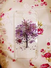 Handmade Pressed Flowers leaf iphone 5 5s 5c 6 6 plus Samsung case cover tree