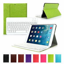 Wireless Bluetooth Keyboard Detachable Leather Case For Apple Air 1st iPad 5