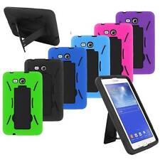 """for Samsung Galaxy Tab 3 7"""" LITE T110 Armor Box Impact Hard Case Cover w/ Stand"""