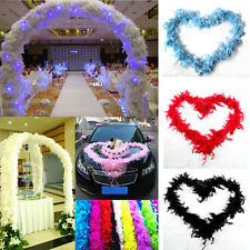 Fine Feather Boa Fluffy Flower Craft Costume Dressup Wedding Party Home Decor