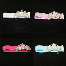 Baby Gir Toddler Infant Pearl Crown Headband Hair Band Photography Accessories
