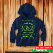 Seattle Seahawks Nation Toddler/Juvy Hooded Pullover Sweatshirt