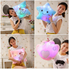 Home Decor Light Thrown Changing LED Colorful Light Cosy Soft Relax Pillows New