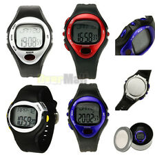 New Waterproof Sport Watch Digital Pulse Heart Rate Monitor Calorie Burn Counter