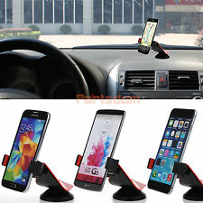 Car Windshield Suction Cup Dashboard Mount Rotating Stand Holder For Phones GPS