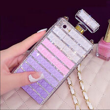 2015 gradient colorful diamond perfume case cover for iphone 5 5s 4s 6 plus xs4