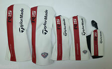 New-Taylormade Golf R15 Driver, Driver TP, Fairway, Fairway TP, Rescue Headcover
