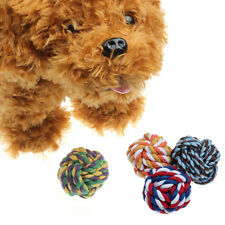 Puppy Dog Cat Pet Toy Cotton Braided Knot Rope Chew Knot Chewing Toy Hottest
