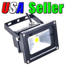 Lot of 2 110V - 240V AC 10W Cool White LED Wall Pack Wash Flood Lamp Outdoor