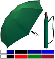 "New Rainstoppers 58"" Collapsible Golf Umbrella - Free Priority Shipping, Rain"
