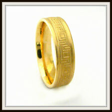 18 KT SOLID YELLOW GOLD CUSTOM MADE WEDDING BAND FOR MEN AND LADIES DE 0012