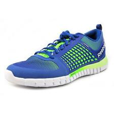 Reebok ZQuick Electrify Mens Blue Synthetic Running Shoes