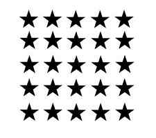 Stars and Stripes Stencil Sheets for Cerakote Duracoat Airbrush Paint Vinyl