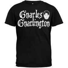 Charlie Sheen - Gnarles Gnarlington Adult Mens T-Shirt