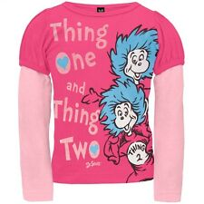 Dr. Seuss - Thing One Thing Two Newborn Infant 2Fer T-Shirt