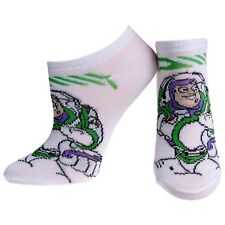 Toy Story - Buzz Lightyear Socks - White