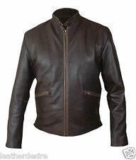Tron Legacy Sam Flynn Jacket in Vintage Brown Leather Jacket - BNWT
