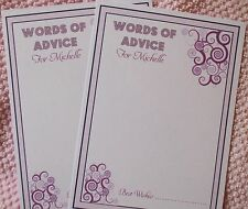Hen Advice - Memory Cards for Hen Partys,  Free envelope, Hen Night Games