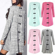 NEW WOMENS BOW BACK DIAMANTE SEQUIN KNITTED SWING MINI DRESS LONG SLEEVED TOP