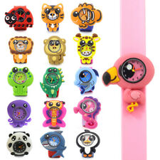 Childrens Animal Shaped Slap Watch Pop Kid's Watches QUARTZ ANALOGUE