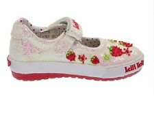 New Lelli Kelly Strawberry White Glitter Canvas sizes Eur 22 to Eur 32 - LK7192