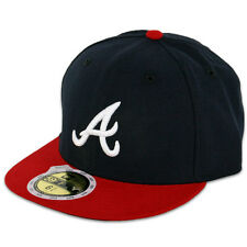 New Era 59FIFTY Fitted MLB AC YOUTH On Field Atlanta Braves Home Cap