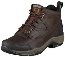 Ariat Women's Terrain H2O Waterproof Leather Hiking Ankle Boots Copper 10004134