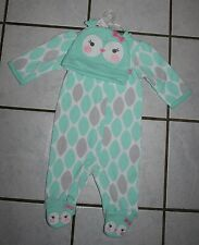 Carter's Just One You My First Halloween OWL Sleep & Play & Hat Set ~ Inf Sizes