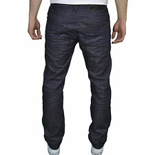 Eto Mens Designer Branded Regular Straight Fit Rinsewash Jeans, BNWT