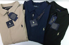 NWT Polo Ralph Lauren BI-SWING Windbreaker Jacket Blue Tan Black Microfiber $145