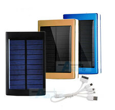 50000mAh/30000mAh Dual USB Solar Power Bank Mobile Battery Charger For iPhone LG