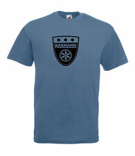 VW VOLKSWAGEN CAMPER KARMANN GRAPHIC HIGH QUALITY 100% COTTON T SHIRT