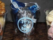 baby shower favor cups-pack of 24-boy or girl-great for announcing births!
