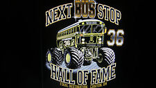 PITTSBURGH STEELERS JEROME BETTIS NEXT BUS STOP HALL OF FAME #36 T-SHIRT