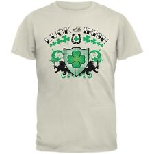 St. Patricks Day - Luck Of The Irish Natural Adult T-Shirt