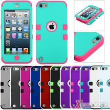 Protective TUFF Hybrid Case Cover For APPLE iPod Touch 5, 3-Layer Protection