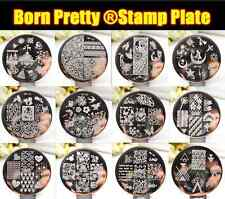 BORN PRETTY #01-55 New Nail Art Design Stamp Stamping Template Image Plates Case