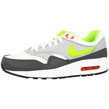 NIKE AIR MAX 1 GS SHOES TRAINERS WHITE VOLT GREY 555766-115 LTD BW CLASSIC 90
