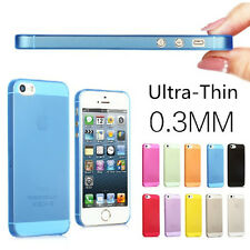 10 X WHOLESALE JOBLOT 0.3MM ULTRA THIN TRANSPARENT FROSTED PHONE CASE COVER