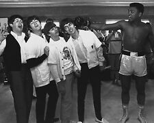 MUHAMMAD ALI AND THE BEATLES 52 (BOXING AND MUSIC) PHOTO PRINT 52A