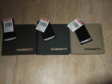 MENS HAMNETT CANVAS WALLET 3 COLOURS AVAILABLE 99P BARGAIN
