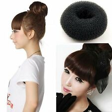 Womens Hair Accessory Hairband Donuts Meatball Scrunchie Scrunchy Poof Bump NEW