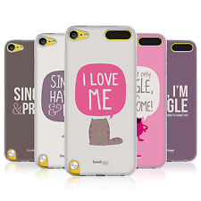 HEAD CASE VALENTINES FOR SINGLES GEL CASE FOR APPLE iPOD TOUCH 5G 5TH GEN