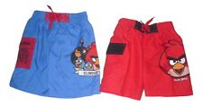 Boys Swimming Shorts Swim Wear Official Angry Birds 3-14 Years Old