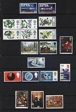 QE2 1967 MNH SETS, ORDINARY AND PHOSPHOR, CHOOSE YOUR SETS, MULTIPLE LISTING