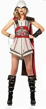 Assassins Creed Ezio Girl Templar Adult Womens Halloween Costume Juniors AS85342