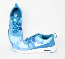 Nike Women Air Max Thea Print Light Blue Lacquer, Clearwater, White 599408-401