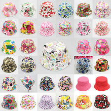 Girl Baby Chic Outdoor Bucket Hats Summer Sun Beach Bonnet Beanie Fedora Cap